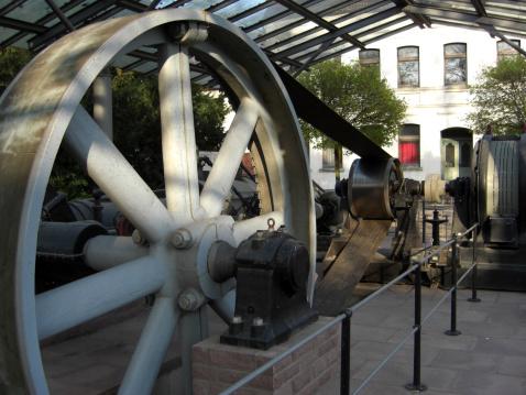 Belt「Historical Einkurbel compound steam engine」:スマホ壁紙(7)