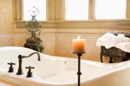Aromatherapy「Bathroom interior」:スマホ壁紙(17)