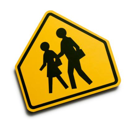 Road Marking「Children Crossing」:スマホ壁紙(6)