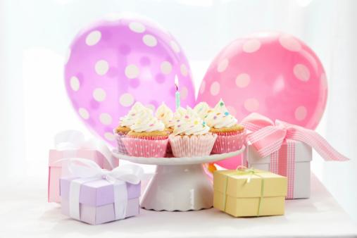 Baby Shower「baby girl party」:スマホ壁紙(7)