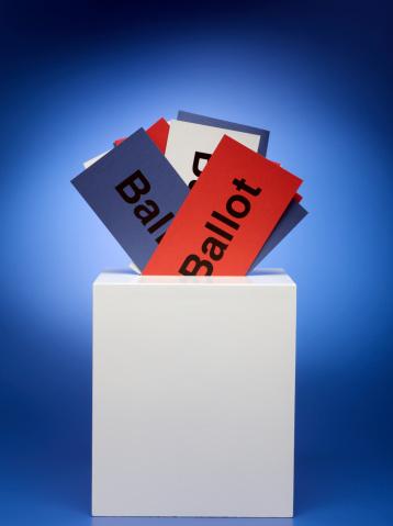 Voting Ballot「Ballots stuffed in ballot box」:スマホ壁紙(15)