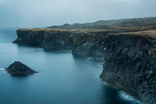 Basalt「Foggy Coastline」:スマホ壁紙(2)