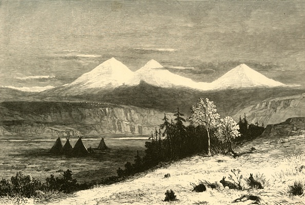 Volcanic Landscape「The Three Sisters」:写真・画像(2)[壁紙.com]