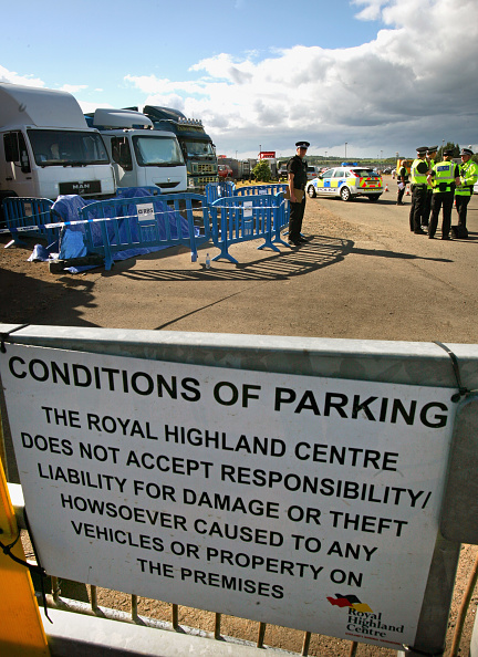 Roped Off「Three Year Old Boy Dies After Accident At Royal Highland Show」:写真・画像(6)[壁紙.com]