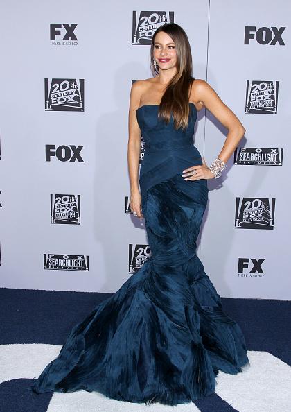 Mermaid Dress「Fox Searchlight 2012 Golden Globe Awards Party - Arrivals」:写真・画像(4)[壁紙.com]