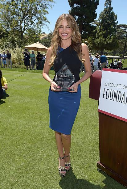 SAG Foundation Honors Sofia Vergara With Inaugural Actors Inspiration Award At Annual L.A. Golf Classic Fundraiser:ニュース(壁紙.com)