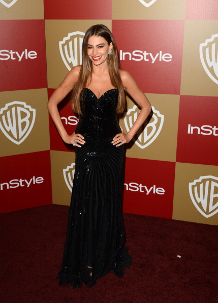 Strapless Evening Gown「14th Annual Warner Bros. And InStyle Golden Globe Awards After Party - Arrivals」:写真・画像(18)[壁紙.com]