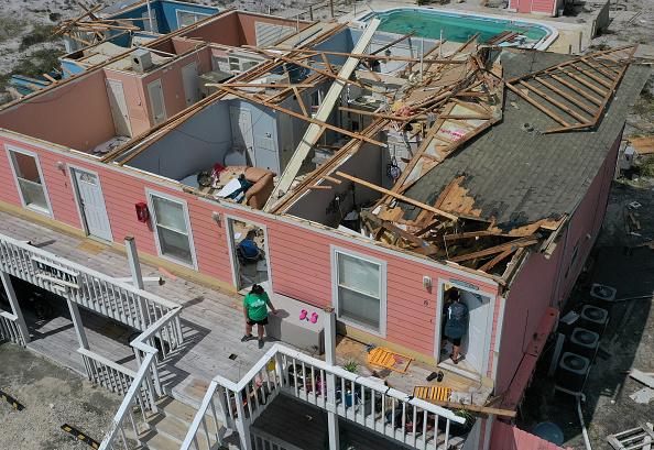 Damaged「Hurricane Sally Makes Landfall On Gulf Coast」:写真・画像(12)[壁紙.com]