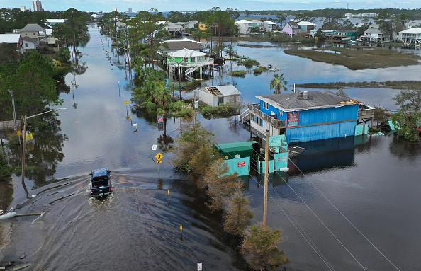 Hurricane - Storm「Hurricane Sally Makes Landfall On Gulf Coast」:写真・画像(9)[壁紙.com]