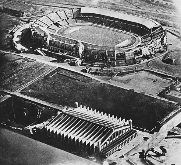 High Angle View「Wembley Stadium Aerial View」:写真・画像(3)[壁紙.com]