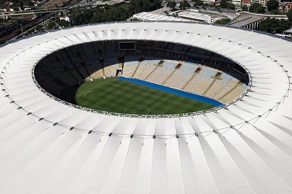 Maracanã Stadium「A Day in Rio de Janeiro as the City Begins to Shut Down」:写真・画像(1)[壁紙.com]