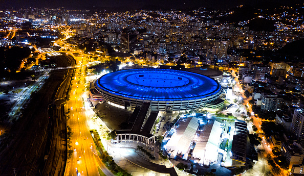 Maracanã Stadium「Maracana Stadium Celebrates its 70th Anniversary Amidst the Coronavirus (COVID - 19) Pandemic」:写真・画像(8)[壁紙.com]