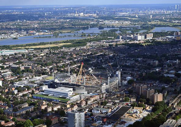 Dan Mullan「Aerial Views Of London」:写真・画像(17)[壁紙.com]