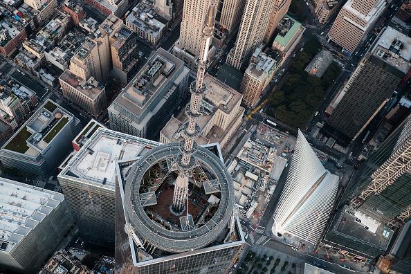 Aerial View「New York City Prepares To Mark The 15th Anniversary Of 9/11 Attacks」:写真・画像(18)[壁紙.com]