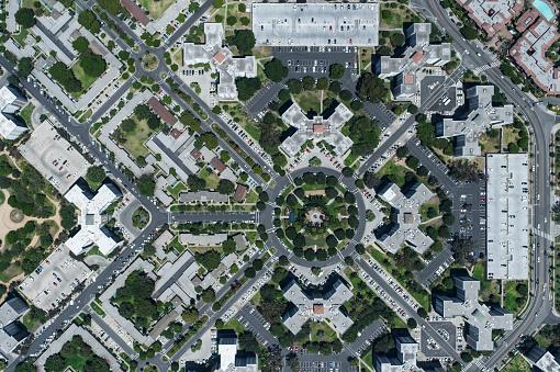 Conformity「An aerial view of cityscape, LA」:スマホ壁紙(9)
