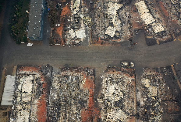 Residential District「California Town Of Paradise Devastated By The Camp Fire Continues Search And Recovery Efforts」:写真・画像(19)[壁紙.com]
