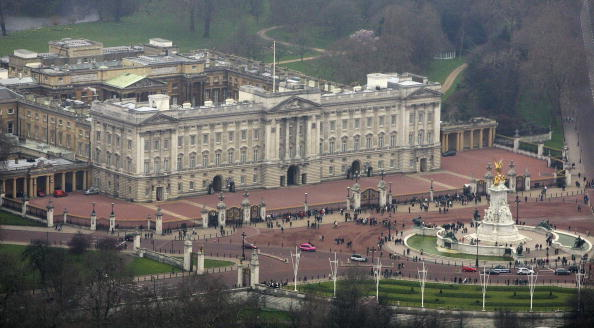 Buckingham Palace「Aerial Views Of Central London」:写真・画像(3)[壁紙.com]