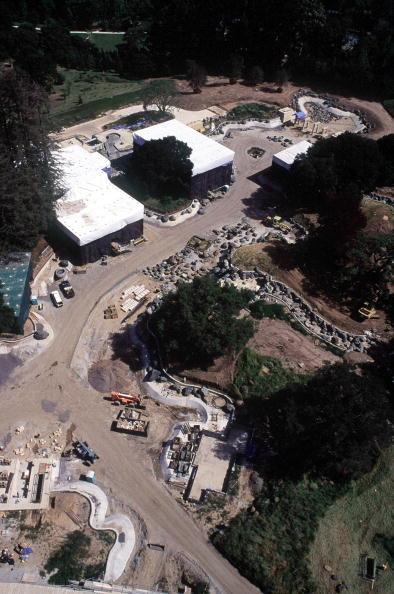 Construction Site「Aerial View of Larry Ellison''s Home Under Construction」:写真・画像(17)[壁紙.com]
