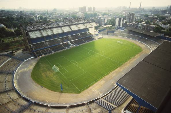 Stamford Bridge「Aerial View of Stamford Bridge circa 1988」:写真・画像(1)[壁紙.com]
