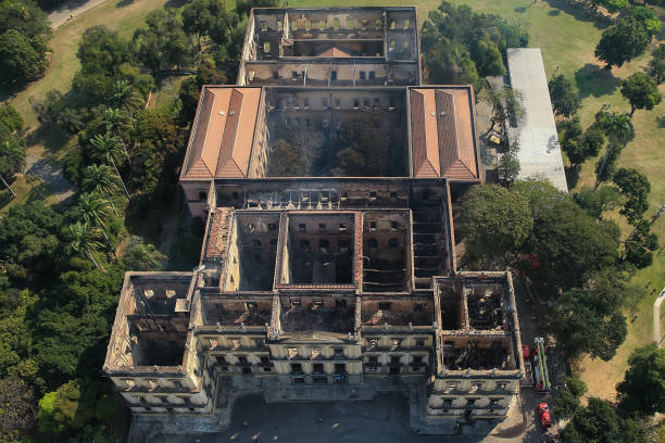 Fire Destroys Iconic National Museum of Brazil:ニュース(壁紙.com)