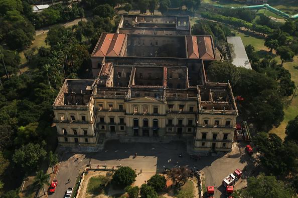 Brazil「Fire Destroys Iconic National Museum of Brazil」:写真・画像(13)[壁紙.com]
