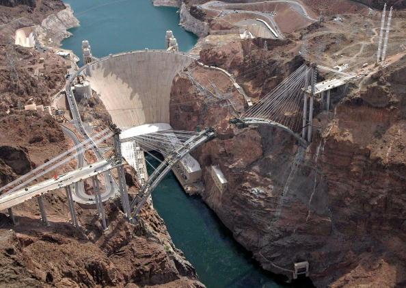 Ethan Miller「Aerials Of Lake Mead National Recreation Area」:写真・画像(5)[壁紙.com]