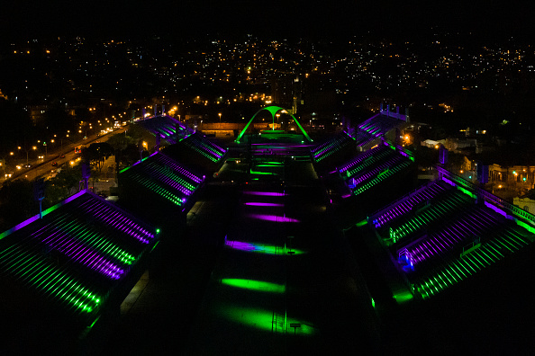Politics and Government「Lights Ceremony Paying Homage to the Victims of the Coronavirus (COVID-19) at the Sambodromo Amidst the Pandemic」:写真・画像(18)[壁紙.com]