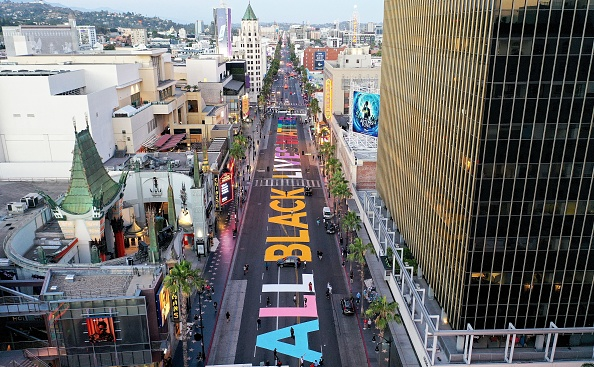 Hollywood - California「Protests Continue Across The Country In Reaction To Death Of George Floyd」:写真・画像(5)[壁紙.com]