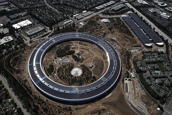 Cupertino「Apple's New Headquarters Near Completion」:写真・画像(1)[壁紙.com]