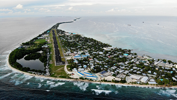 Pacific Islands「Rising Sea Levels Threaten Coral Atoll Nation Of Tuvalu」:写真・画像(2)[壁紙.com]