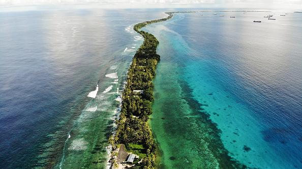 Pacific Ocean「Rising Sea Levels Threaten Coral Atoll Nation Of Tuvalu」:写真・画像(6)[壁紙.com]