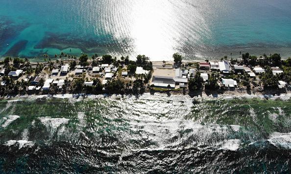 Pacific Ocean「Rising Sea Levels Threaten Coral Atoll Nation Of Tuvalu」:写真・画像(17)[壁紙.com]