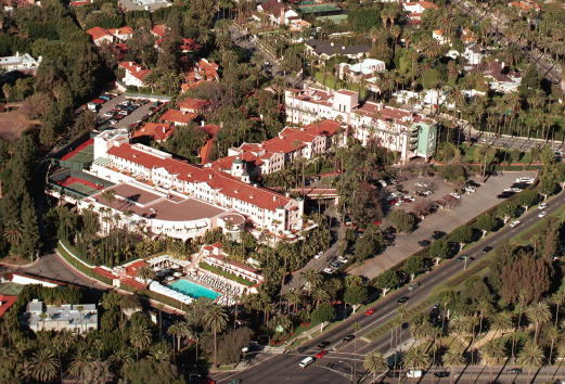 Beverly Hills Hotel「Aerial View Of The Beverly Hills Hotel」:写真・画像(2)[壁紙.com]