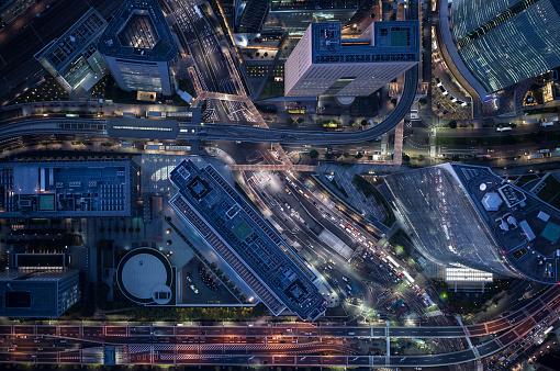 Minato Ward「An aerial view of Tokyo」:スマホ壁紙(13)