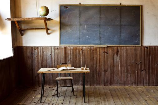 Antique「Abandoned school」:スマホ壁紙(11)