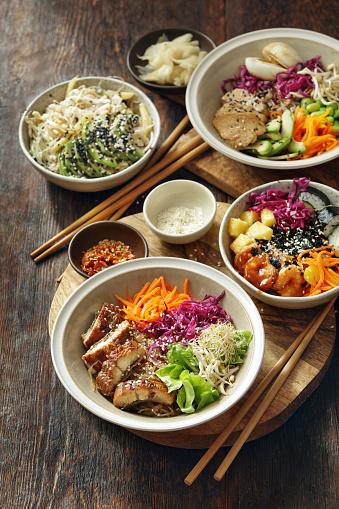 Brown Rice「Homemade Poke Bowls and Glass Noodle Salad」:スマホ壁紙(6)
