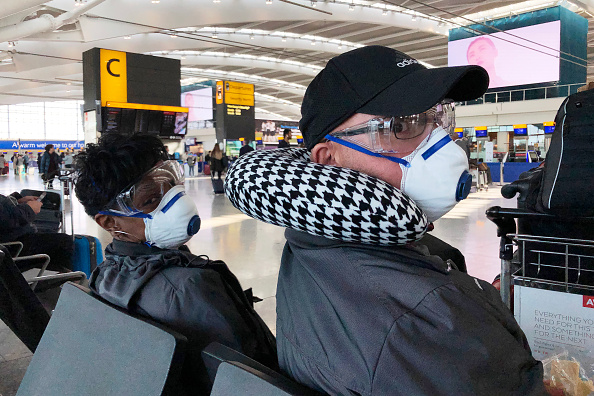 Heathrow Airport「Flights From The UK To The USA  Cease At Midnight Eastern Time」:写真・画像(9)[壁紙.com]