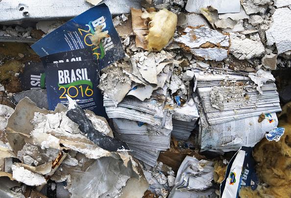 オリンピック「Rio Olympics Media Center Becomes A Health Hazard After Its Destruction」:写真・画像(15)[壁紙.com]