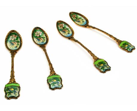 Fretwork「Set of golden spoons」:スマホ壁紙(10)