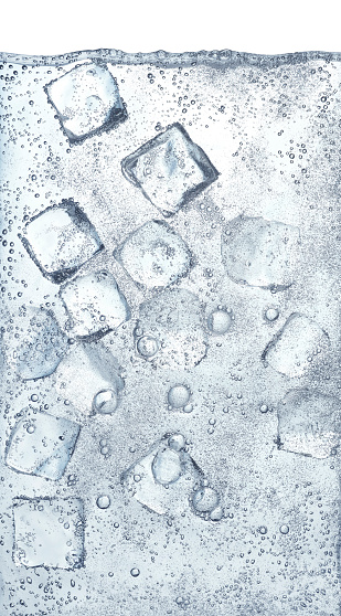 Water Surface「Ice Cubes in Water」:スマホ壁紙(17)