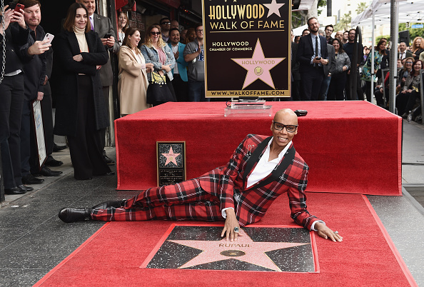 Walk Of Fame「RuPaul Honored With Star On The Hollywood Walk Of Fame」:写真・画像(15)[壁紙.com]