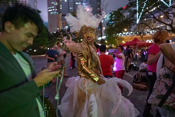 Politics「Hong Kongers Mark International Day Against Homophobia, Transphobia and Biphobia」:写真・画像(6)[壁紙.com]