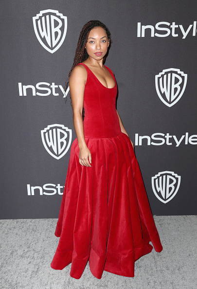 Logan Browning「InStyle And Warner Bros. Golden Globes After Party 2019 - Arrivals」:写真・画像(16)[壁紙.com]