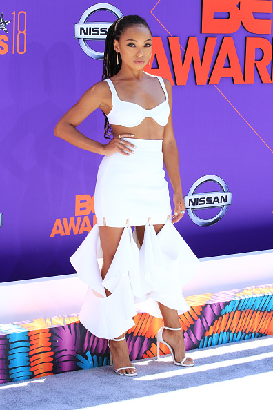 Logan Browning「2018 BET Awards - Arrivals」:写真・画像(0)[壁紙.com]