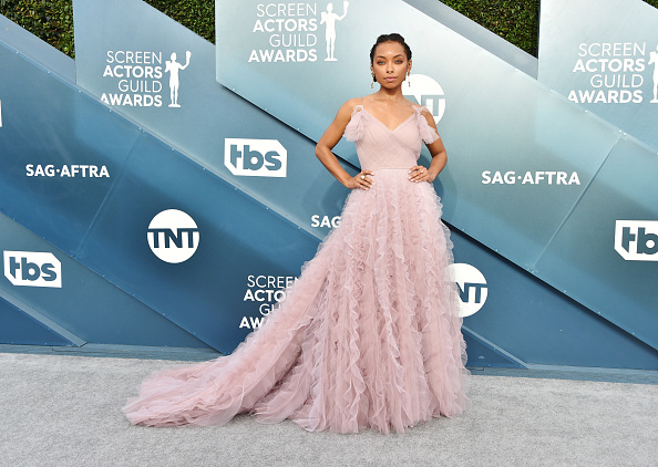 Logan Browning「26th Annual Screen Actors Guild Awards - Arrivals」:写真・画像(11)[壁紙.com]