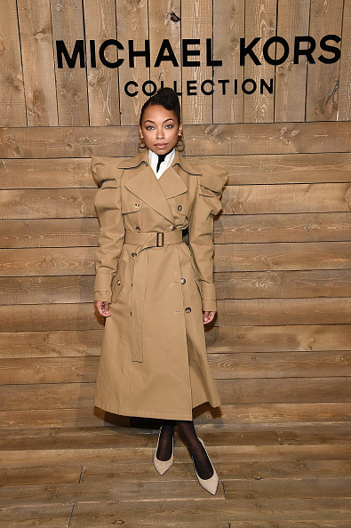 Nude Colored Shoe「Michael Kors FW20 Runway Show - Front Row」:写真・画像(4)[壁紙.com]