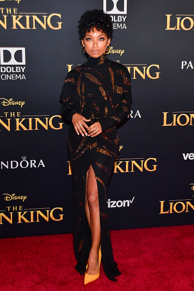 "Logan Browning「Premiere Of Disney's ""The Lion King"" - Arrivals」:写真・画像(3)[壁紙.com]"