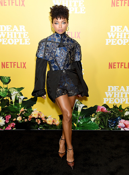 "Logan Browning「Premiere Of Netflix's ""Dear White People"" Season 3 - Arrivals」:写真・画像(9)[壁紙.com]"