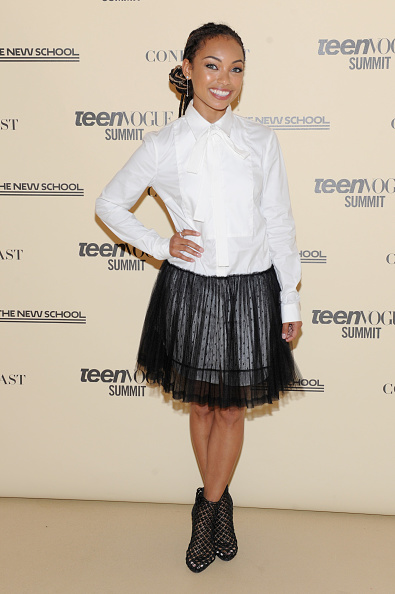 Logan Browning「Teen Vogue Summit 2018: #TurnUp  - Day 1」:写真・画像(7)[壁紙.com]