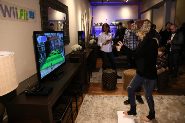 Wireless Technology「Wii Fit U Brings Fun And Fitness To The Nintendo Chalet During 2014 Sundance Film Festival - Day 2 - 2014 Park City」:写真・画像(17)[壁紙.com]